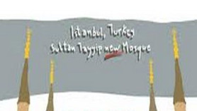 Yunan gazetesinden skandal karikatür! Camiyi nasıl çizdiler?