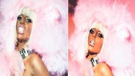 Lady Gaga Photoshop'la 10 kilo zayıfladı! İşte o kare!
