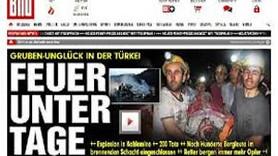 Soma felaketi Alman basınında! Nasıl duyurdular?
