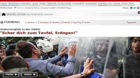 'Cehenneme git Erdoğan' a gelen tepkilere Türkçe karşılık verdi!