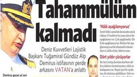 Vatan Gazetesi'nde skandal hata!
