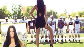 Adriana, Amerikan futboluna çalım attı!