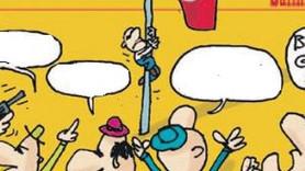 Salih Memecan'dan olay yaratacak 'bayrak' karikatürü!