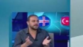 Hasan Şaş'ın izlanda yorumu olay oldu; İzlanda topu kaleye 3 defa...