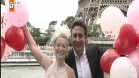 Zahide Yetiş Paris'te evlendi!
