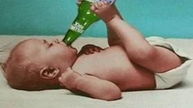 Şok! 18 aylık bebek 1.70 promil alkollü çıktı!