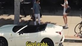 Ferrari ile kız tavlamak!