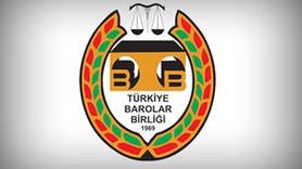 Türkiye Barolar Birliği'nden ilanlı tepki!