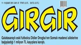 Drogba'nın kaybolan bağışı Gırgır'a nasıl kapak oldu?