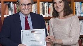 Hasan Cemal'e Harvard'dan Gazetecilikte Vicdan ve Dürüstlük Ödülü!