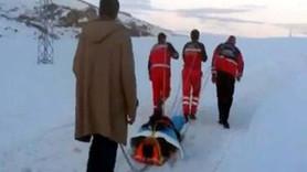 TRT çalışanı donmaktan böyle kurtarıldı