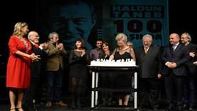 Tiyatro ve edebiyat dünyasının usta ismine 100.yaş kutlaması!