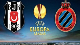 Beşiktaş - Club Brugge maçı saat kaçta hangi kanalda?