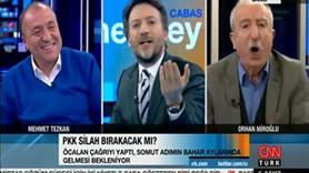 CNN Türk ekranlarında şok kavga! Tezkan güldü, Miroğlu sinirden köpürdü!