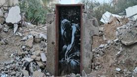 Banksy'nin eserini 175 dolara sattı!