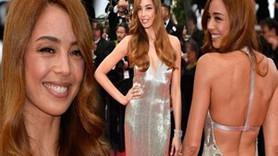 Güzellik elçisi Azra Cannes'da