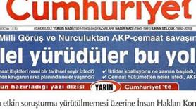 Cumhuriyet yayın yasağına manşetten meydan okudu: Susmak yok, bizi yıldıramazsın!
