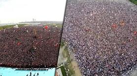 Hangi partinin mitingi daha kalabalıktı?