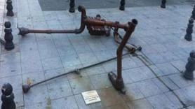 Kadıköy'deki Berkin Elvan heykeline saldırı!
