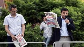 """Demirtaş'ın """"paçavra"""" diye fırlattığı gazetelerden cevap geldi!"""