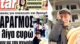 Borç krizindeki Yunanistan'da Eşref Amca manşet oldu!