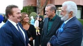 Cumhurbaşkanı iftarda ünlü isimlerle buluştu!