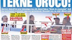 Ahmet Hakan'ın tekne orucu fotoğraflarını Takvim'e kim verdi?