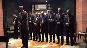 Ankara bu fotoğrafı konuşuyor! Erdoğan imamlık yaptı, namaz kıldırdı!