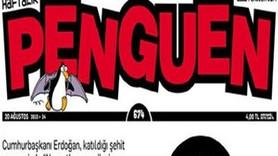 Penguen'den Erdoğan'ın şehit cenazesindeki sözlerine olay kapak!