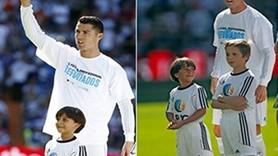 Ronaldo'dan Macar gazeteciye insanlık dersi!