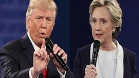 Trump'tan Clinton'a: Ben başkan olduğumda sen hapsi boylayacaksın!