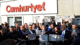 Cumhuriyet Gazetesi'ne operasyona Hükümetten ilk açıklama!