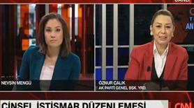 AKP'li vekilden canlı yayında KJ'ye müdahale: Cinsel istismar demeyin