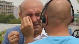 CNN Türk'te arı şoku! Cem Seymen'in konuğunu arı soktu!