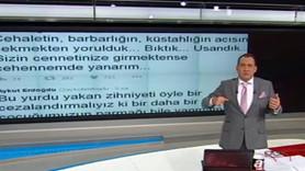 A Haber sunucusundan CHP'li vekile beddua: Allahım cehenneminde cayır cayır yak yalvarıyorum sana!