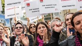 9 yazar ve yöneticisi tutuklanan Cumhuriyet'e destek nöbeti