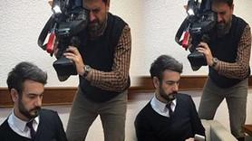 Erhan Çelik sahaya indi! Ünlü anchorman hangi haber için kameraman oldu?
