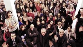 Tutuklu gazetecilere destek fotoğrafı: Yeni yılımız özgür olsun!