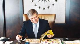 Abdullah Gül'ün elindeki dergiye dikkat! Bu fotoğraf Erdoğan'ı çok kızdıracak!