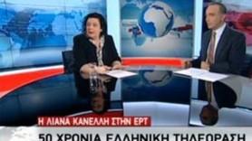 Anarşistler devlet televizyonunun canlı yayınını bastılar!