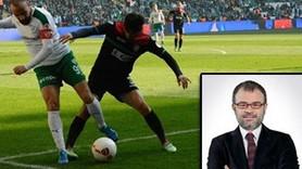 Bursaspor-Amedspor maçının tepki çeken spikeri konuştu! Neden 'Onlar' dedi?