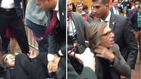 Donald Trump'ın korumaları Time muhabirini dövdü!