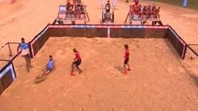 Survivor'da Yattara'dan futbol şovu
