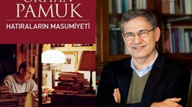 """Orhan Pamuk'tan yeni kitap: """"Hatıraların Masumiyeti"""""""
