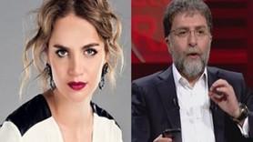 """Tuğçe Kazaz'dan Ahmet Hakan'a """"ricalı"""" yanıt: Aferin, dikkatimi çektin"""