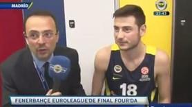 FB TV muhabiri, Obradovic'i görünce kaçacak delik aradı!