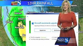 Canlı yayında Windows 10 krizi!