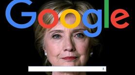 Google'a Hillary Clinton suçlaması