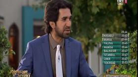 TRT'nin iftar programındaki skandal sözler için sunucu özür diledi!