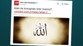 """Sosyal medyayı sallayan haber! """"Allah ile konuşmak ister misiniz?"""""""